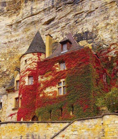 12th-Century-fortress-Nomandy-France