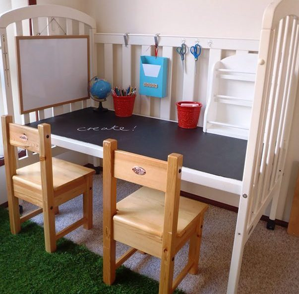 recycle-old-cot-into-a-craft-or-work-spot-for-your-kids_1480343874-e1480582989577