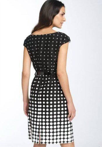 Выкройка элегантного простого прямого платья