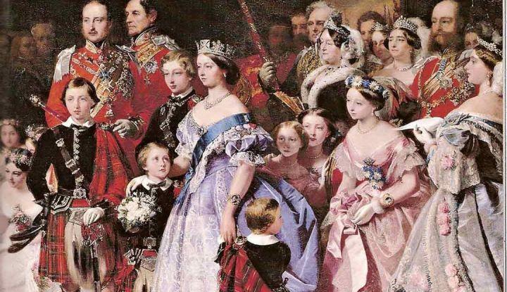Как получилось, что королева Великобритании Елизавета II приходится родней Николаю II, а принц Уильям — Николаю I